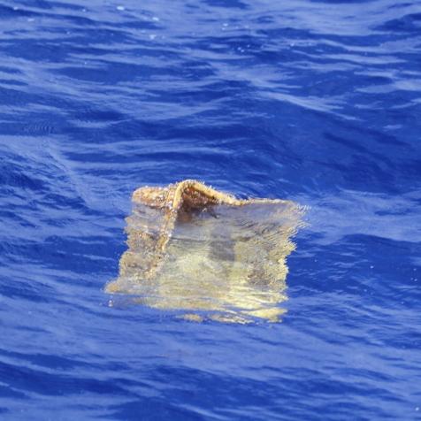 Debris adrift